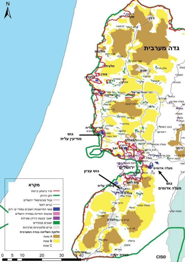 ההתיישבות בגדה המערבית