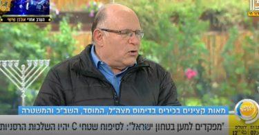 עוזי ארד מתראיין בתוכנית הבוקר